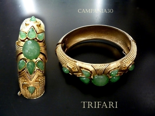 BB99 - BRACCIALE TRIFARI JADE JEWELS OF INDIA - LE COLLEZIONI  DI CAMPANIA30